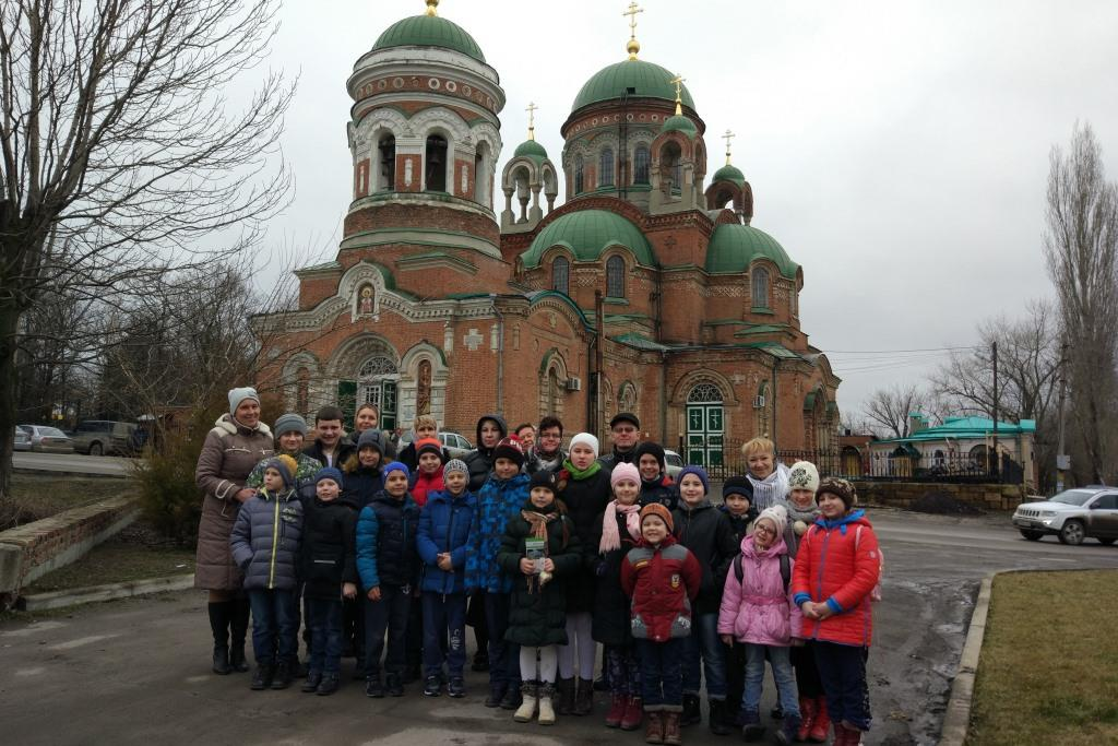 Экскурсионно- паломническая поездка учеников воскресной школы