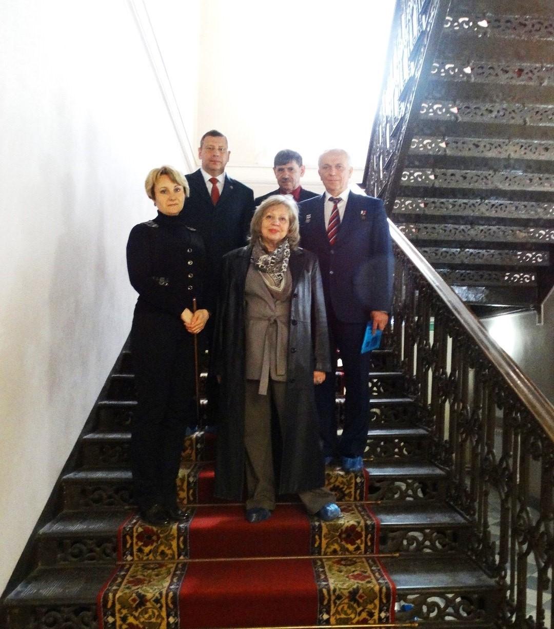 Особые гости в Атаманском дворце