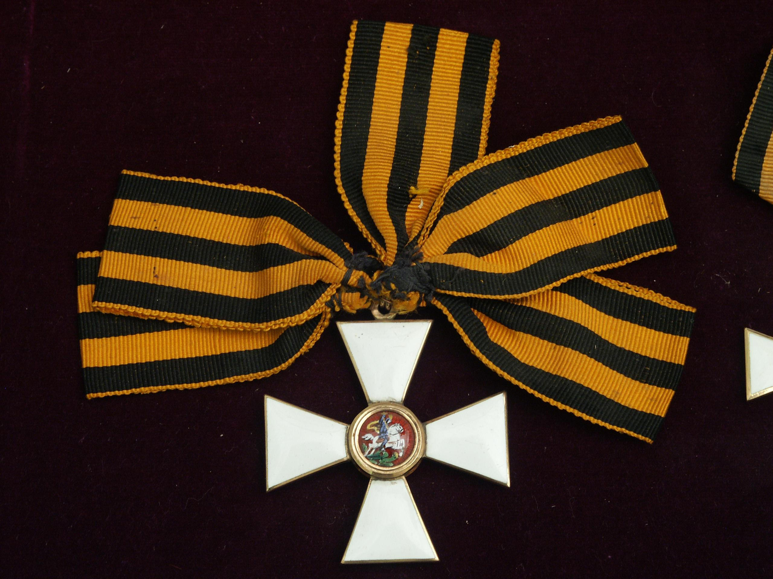 Знак ордена Св. Георгия III ст.
