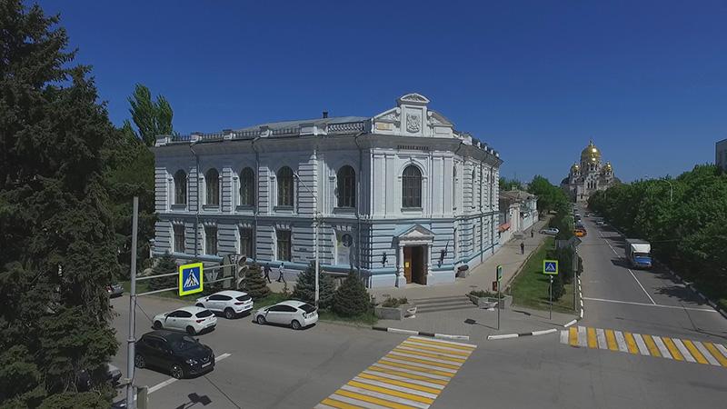 Аэросъемка Новочеркасского музея истории Донского казачества