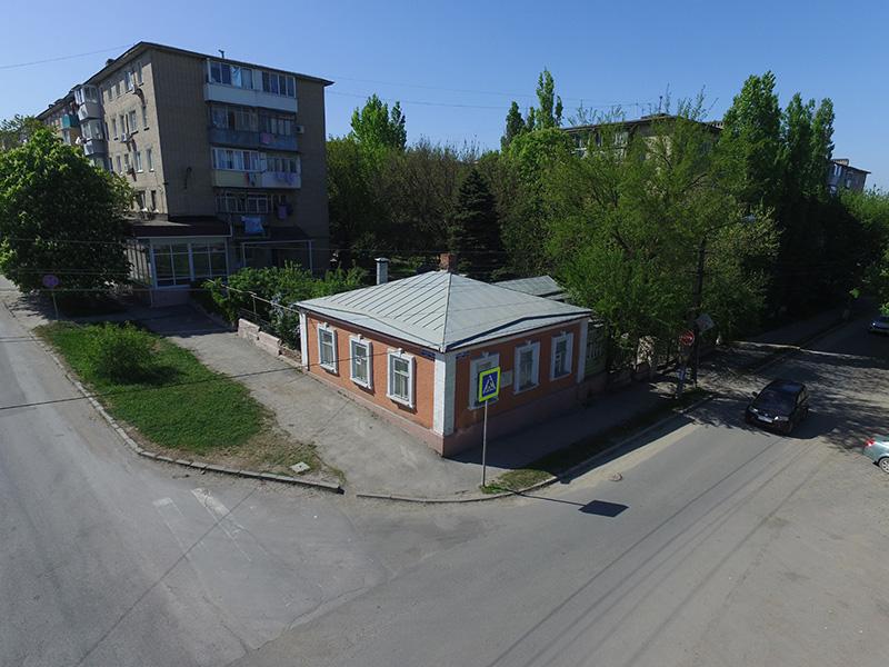 Аэросъемка музея Крылова