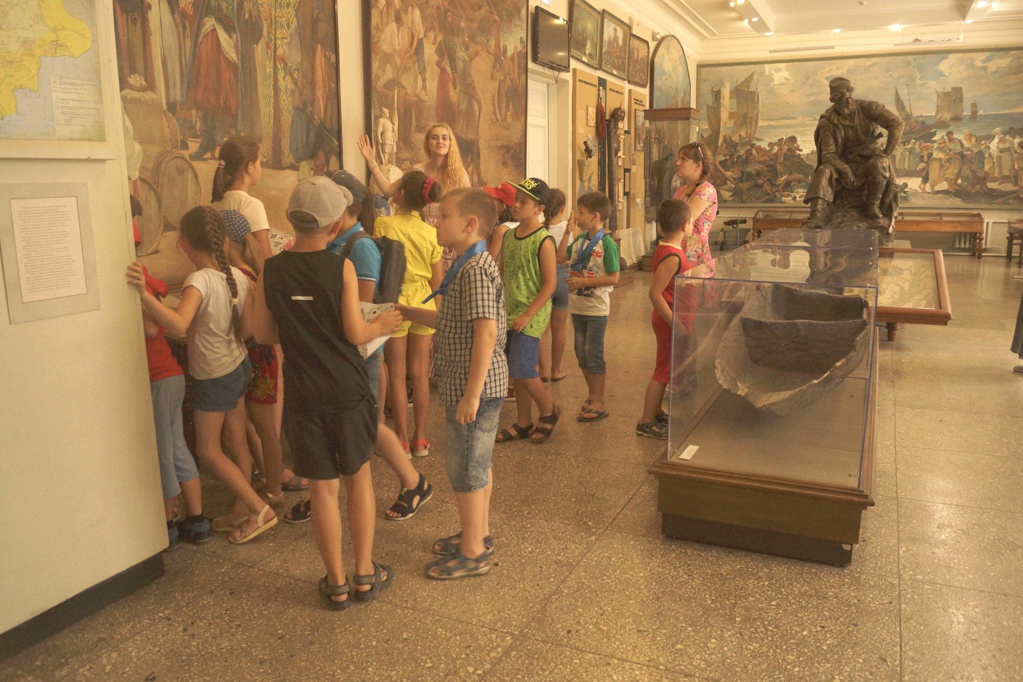 Каникулы в музее