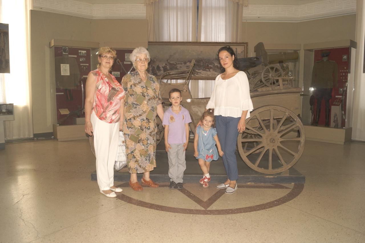 Родственники ветерана в гостях у музея
