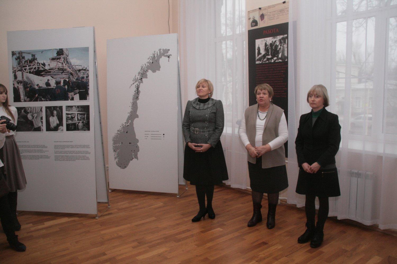 Выставка «Советские военнопленные в Норвегии».