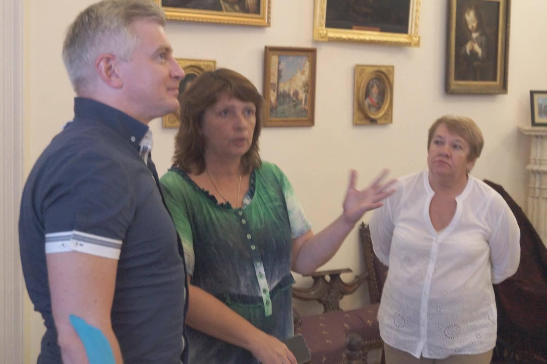 Александр Владимирович Кибовский в гостях у музея
