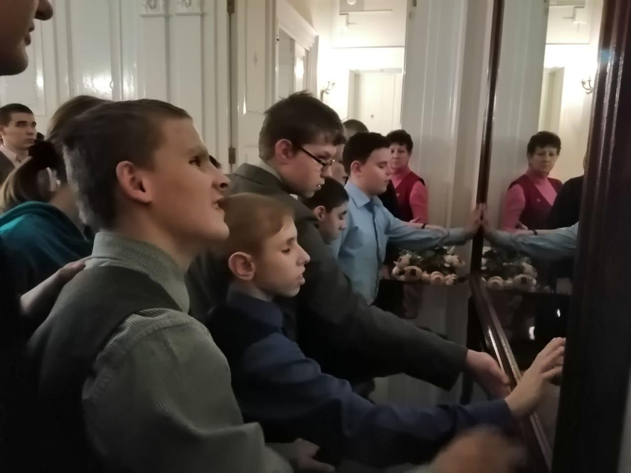 Декада инвалидов в музее