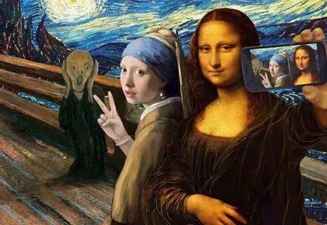 """Международная акция """"#MuseumSelfie 2020"""""""