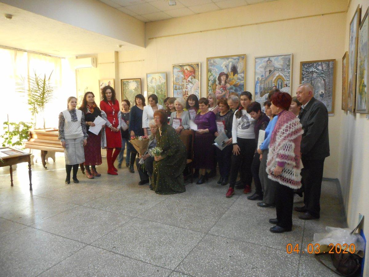 20-ая выставка творческого объединения «Женская палитра»