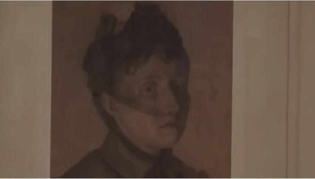 Елизавета Ивановна Крылова - супруга художника