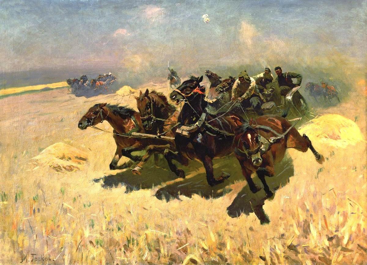 Выставка «Лошади в творчестве М.Б.Грекова»
