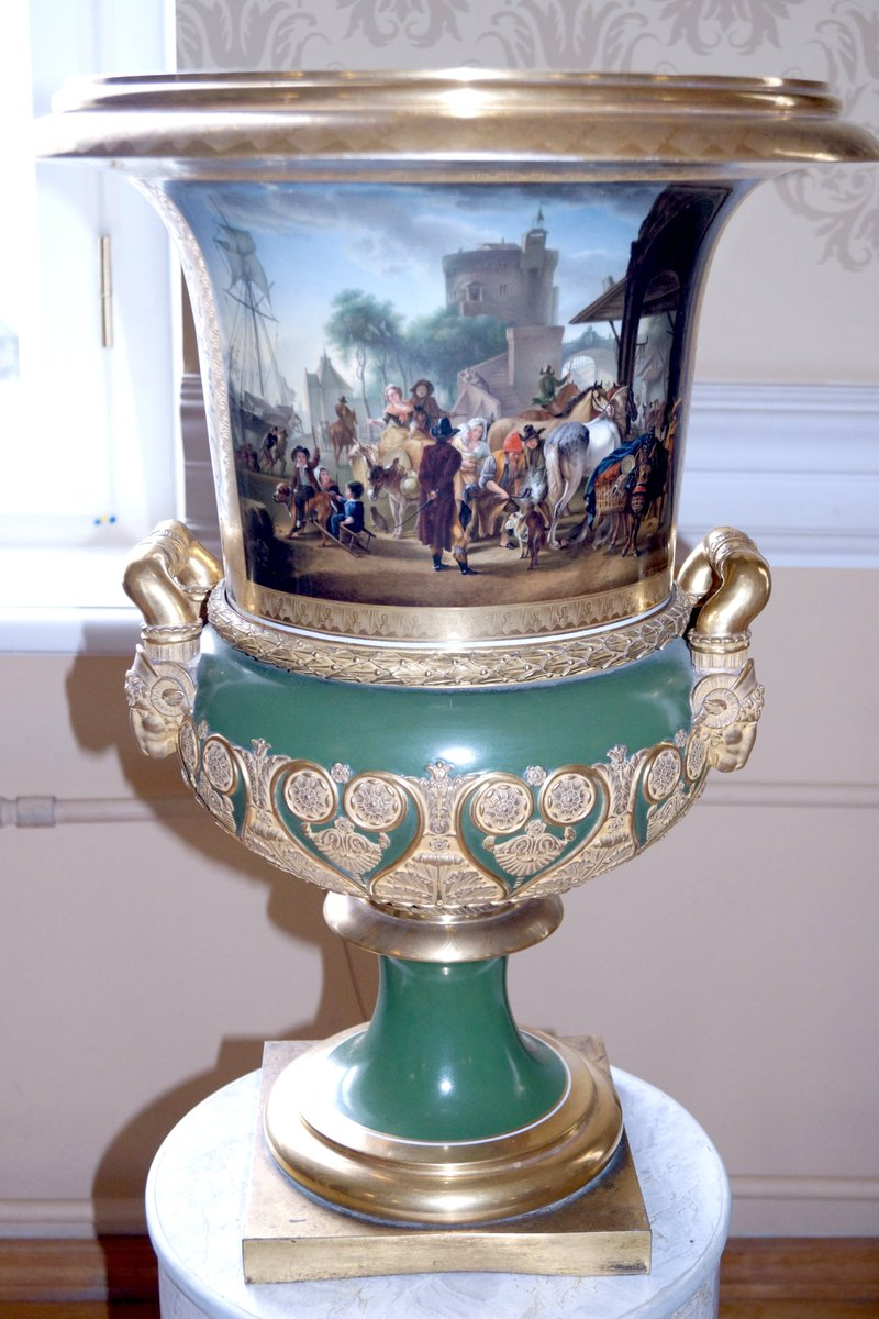 «Рассказывают хранители…». «Коллекция Граббе: парные вазы».