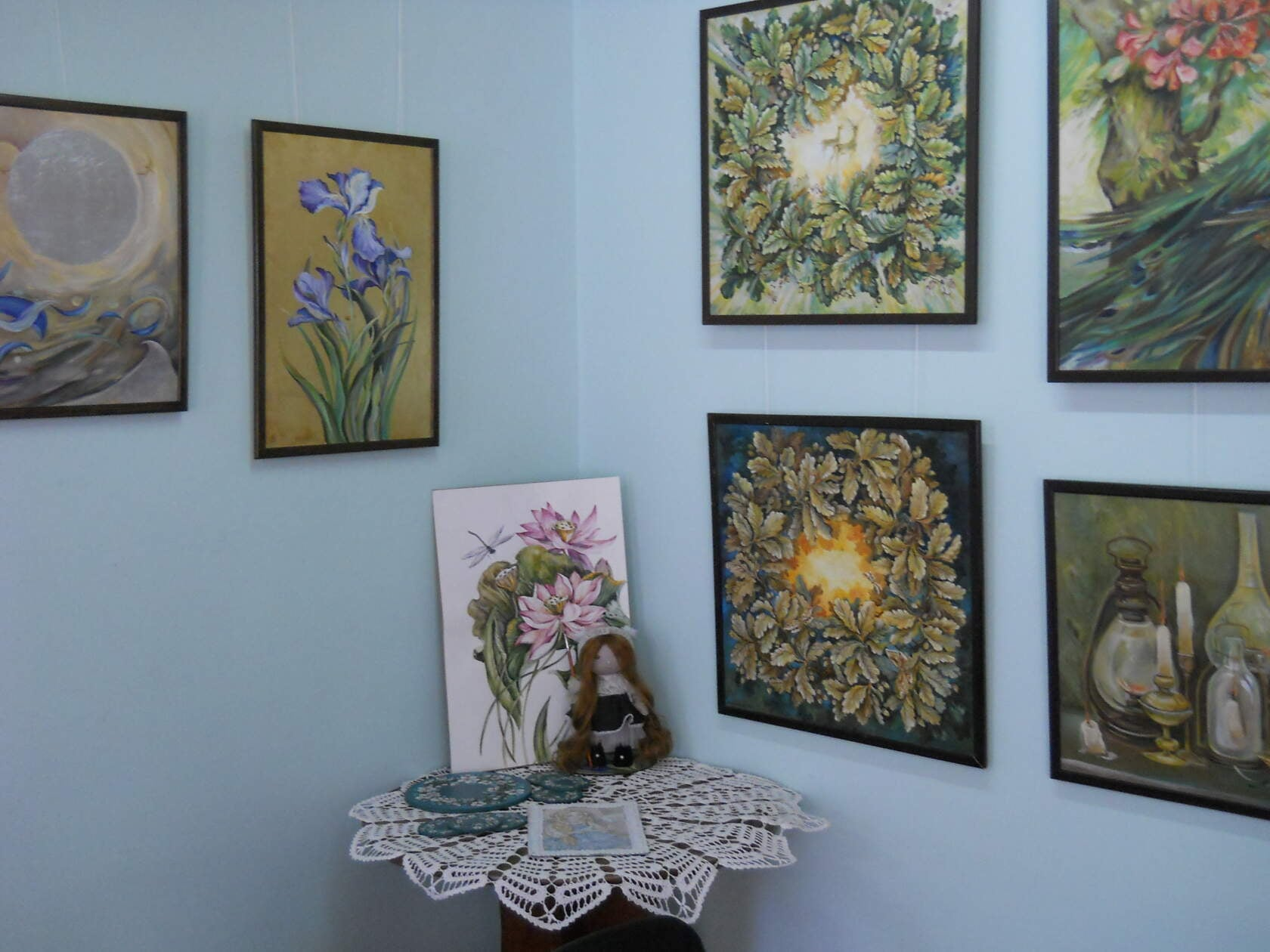 Выставка азовской художницы Ольги Строгановой в Доме-музее М. Б. Грекова