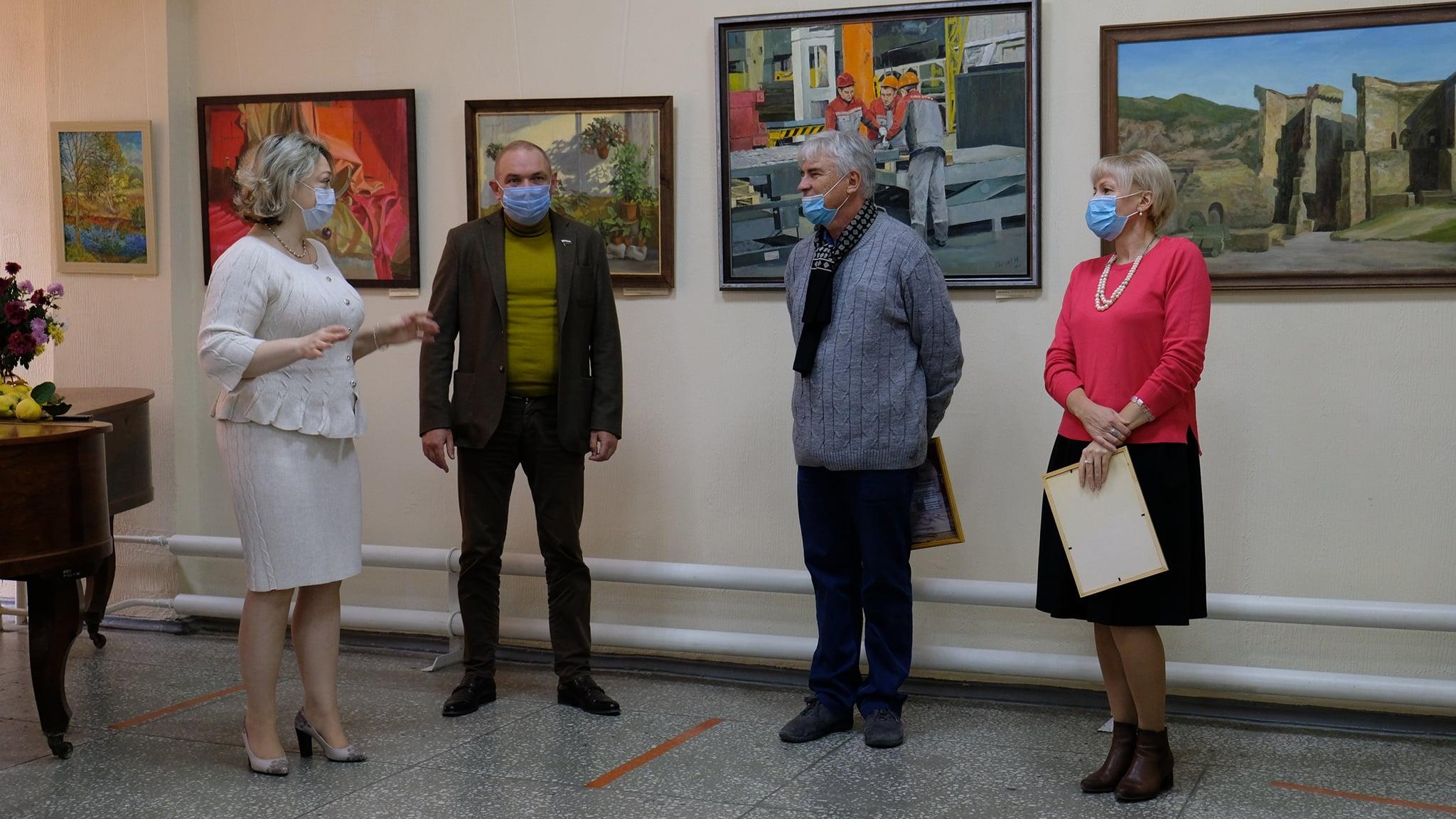 9-я выставка молодых художников Дона и Кубани.