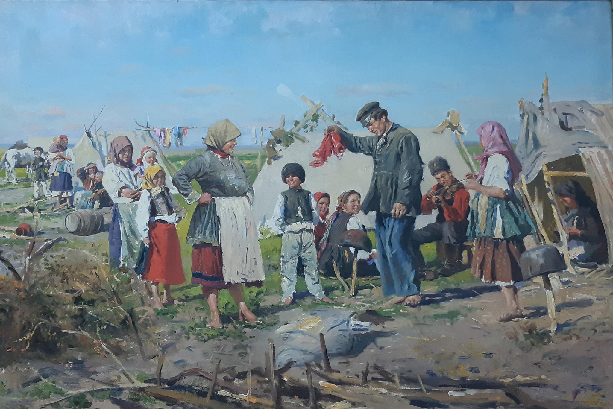 Выставка «Картины жизни». Живописные и графические работы В. Е. Маковского
