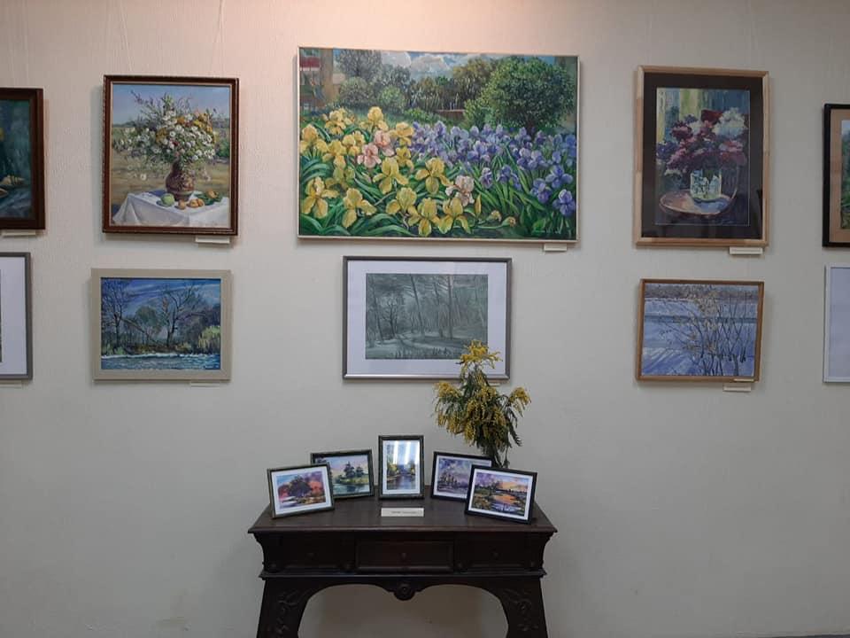 Выставка «Там, где живёт весна».