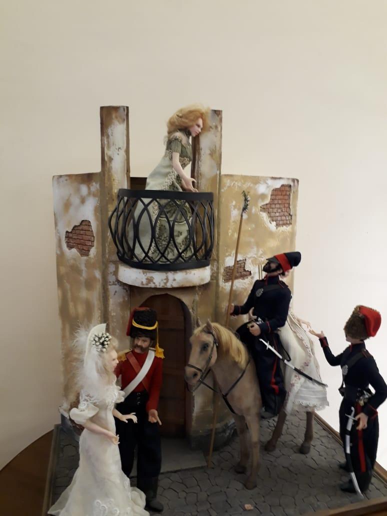 Выставка Светланы Деркач «Куклы с историей».